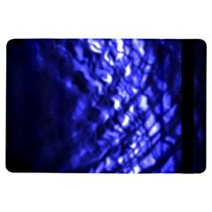 Blue Ripple Ipad Air Flip by vwdigitalpainting