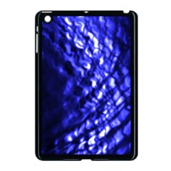 Blue Ripple Apple Ipad Mini Case (black) by vwdigitalpainting