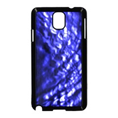 Blue Ripple Samsung Galaxy Note 3 Neo Hardshell Case (black) by vwdigitalpainting