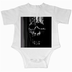 Black And Grey Nightmare Infant Creepers by vwdigitalpainting
