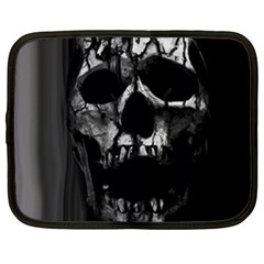 Black And Grey Nightmare Netbook Case (xxl)  by vwdigitalpainting