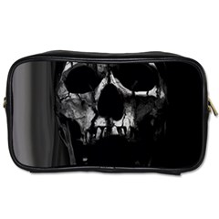Black And Grey Nightmare Toiletries Bags 2 Side by vwdigitalpainting