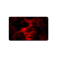 Anxiety Magnet (name Card) by vwdigitalpainting