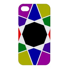 Compass Abstract Apple Iphone 4/4s Hardshell Case by vwdigitalpainting