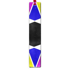 Compass Abstract Large Book Marks by vwdigitalpainting