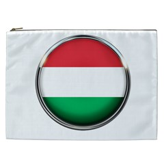 Hungary Flag Country Countries Cosmetic Bag (xxl)