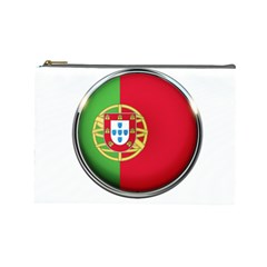Portugal Flag Country Nation Cosmetic Bag (large)  by Nexatart