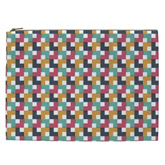 Background Abstract Geometric Cosmetic Bag (xxl)