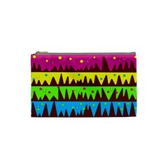 Illustration Abstract Graphic Cosmetic Bag (small)  by Nexatart