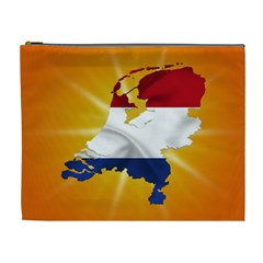 Holland Country Nation Netherlands Flag Cosmetic Bag (xl) by Nexatart