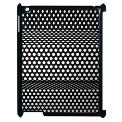 Holes Sheet Grid Metal Apple Ipad 2 Case (black)