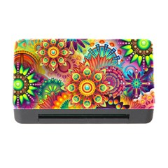 Colorful Abstract Background Colorful Memory Card Reader With Cf
