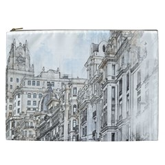 Architecture Building Design Cosmetic Bag (xxl)