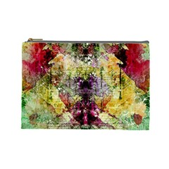 Background Art Abstract Watercolor Cosmetic Bag (large)  by Nexatart