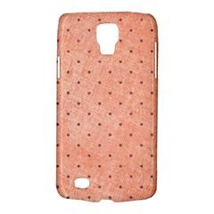 Dot Peach Galaxy S4 Active by snowwhitegirl