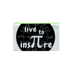 Pi Day Cosmetic Bag (xs) by Valentinaart