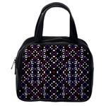 Futuristic Geometric Pattern Classic Handbags (One Side)