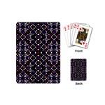 Futuristic Geometric Pattern Playing Cards (Mini)