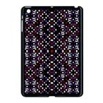 Futuristic Geometric Pattern Apple iPad Mini Case (Black)