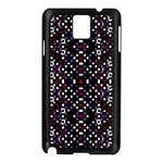 Futuristic Geometric Pattern Samsung Galaxy Note 3 N9005 Case (Black)