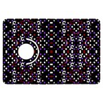 Futuristic Geometric Pattern Kindle Fire HDX Flip 360 Case