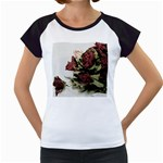 Roses 1802790 960 720 Women s Cap Sleeve T