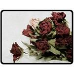 Roses 1802790 960 720 Double Sided Fleece Blanket (Large)