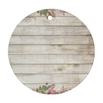 On Wood 2188537 1920 Round Ornament (Two Sides)