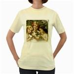 Vintage 1501558 1280 Women s Yellow T-Shirt