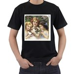 Vintage 1501558 1280 Men s T-Shirt (Black) (Two Sided)