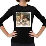 Vintage 1501558 1280 Women s Long Sleeve Dark T-Shirts