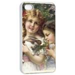 Vintage 1501558 1280 Apple iPhone 4/4s Seamless Case (White)