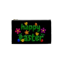 Happy Easter Cosmetic Bag (small)  by Valentinaart