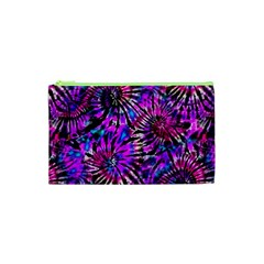 Purple Tie Dye Madness  Cosmetic Bag (xs) by KirstenStar