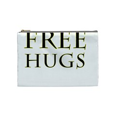 Freehugs Cosmetic Bag (medium)  by cypryanus