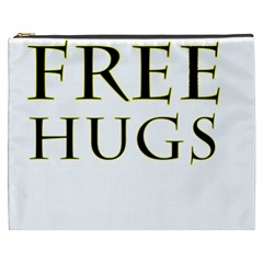 Freehugs Cosmetic Bag (xxxl)  by cypryanus