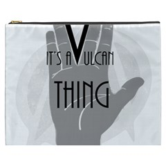 It s A Vulcan Thing Cosmetic Bag (xxxl)  by Howtobead