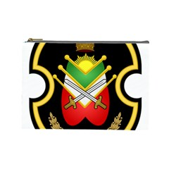 Shield Of The Imperial Iranian Ground Force Cosmetic Bag (large)  by abbeyz71