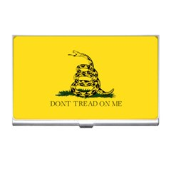Gadsden Flag Don t Tread On Me Business Card Holders by snek