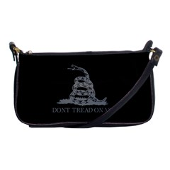 Gadsden Flag Don t Tread On Me Shoulder Clutch Bags by snek