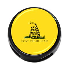 Gadsden Flag Don t Tread On Me 4-port Usb Hub (one Side) by snek