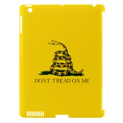 Gadsden Flag Don t Tread On Me Apple Ipad 3/4 Hardshell Case (compatible With Smart Cover) by snek