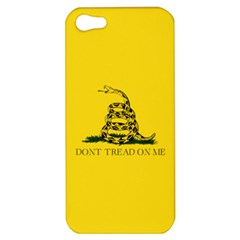Gadsden Flag Don t Tread On Me Apple Iphone 5 Hardshell Case by snek