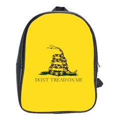 Gadsden Flag Don t Tread On Me School Bag (xl) by snek