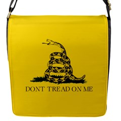 Gadsden Flag Don t Tread On Me Flap Covers (s)  by snek