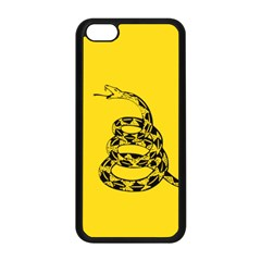 Gadsden Flag Don t Tread On Me Apple Iphone 5c Seamless Case (black) by snek