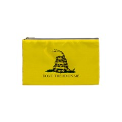 Gadsden Flag Don t Tread On Me Cosmetic Bag (xs) by snek