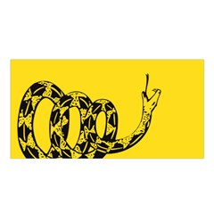 Gadsden Flag Don t Tread On Me Satin Shawl by MAGA