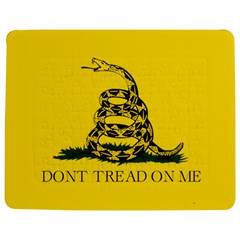 Gadsden Flag Don t Tread On Me Jigsaw Puzzle Photo Stand (rectangular) by MAGA