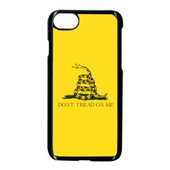 Gadsden Flag Don t Tread On Me Apple Iphone 7 Seamless Case (black) by snek